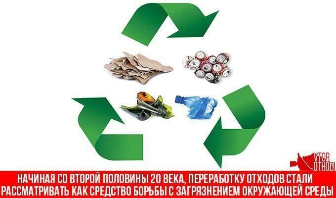 В современном мире переработка очень важна