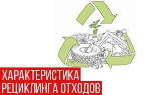 характеристика рециклинга отходов